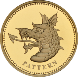 Dragon Pattern Gold Coin Icon