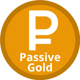 Passive Gold Coin official logo
